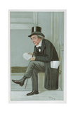 James Staats Forbes, 'Spy' Cartoon from Vanity Fair, Pub. 1900 Giclee Print by Sir Leslie Ward