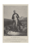 Sir Walter Scott Giclee Print by Sir William Allan