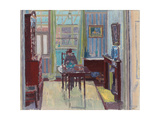Interior of Room at 6 Cambrian Road, Richmond, 1914 Giclee Print by Spencer Frederick Gore