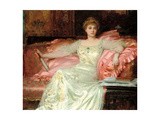 Portrait of Mrs. W. K. D'Arcy, 1902 Giclee Print by Frank Dicksee