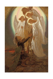 Christian at the Foot of the Cross Giclee Print by Sir Joseph Noel Paton