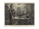 Ninety-Three, Danton, Robespierre, and Marat in the Wine Shop Giclee Print by Hubert von Herkomer