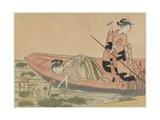 Mitate of Zhou Maoshu, after 1765 Giclee Print by Suzuki Harunobu