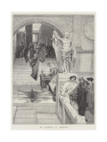 An Audience at Agrippa'S Giclee Print by Sir Lawrence Alma-Tadema