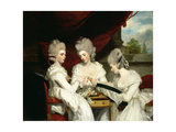 The Ladies Waldegrave, 1780 Giclee Print by Sir Joshua Reynolds