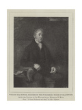 William Blackwood, Founder of the Publishing House of Blackwood Giclee Print by Sir William Allan