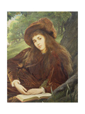 Portrait of Anna Maria 'Nettie' Jameson, Nee Davies Giclee Print by William Blake Richmond