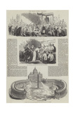 The Holy Week in Rome Giclee Print by Sir John Gilbert