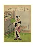 Uzuki Giclee Print by Suzuki Harunobu