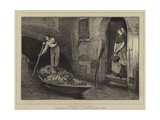 A Venetian Fruit Seller Giclee Print by Sir William Quiller Orchardson