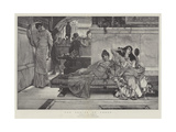 The Shrine of Venus Giclee Print by Sir Lawrence Alma-Tadema