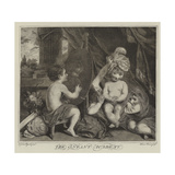The Infant Academy Giclee Print by Sir Joshua Reynolds