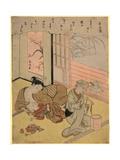 Taira No Kanemori Giclee Print by Suzuki Harunobu