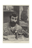 Portrait of Signor G B Amendola Giclee Print by Sir Lawrence Alma-Tadema