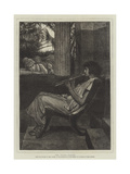 The Flute Player Giclee Print by Sir Lawrence Alma-Tadema