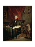 Sir Walter Scott (1771-1832), 1831 Giclee Print by Sir Francis Grant