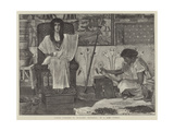 Joseph, Overseer of Pharaoh's Granaries Giclee Print by Sir Lawrence Alma-Tadema