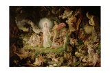 The Quarrel of Oberon and Titania, 1849 Giclee Print by Sir Joseph Noel Paton