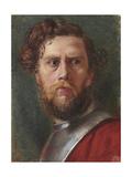 Study of a Head Giclee Print by Hubert von Herkomer