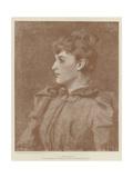 A Portrait Giclee Print by James Jebusa Shannon