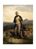 Sir Walter Scott (1771-1832) Giclee Print by Sir William Allan
