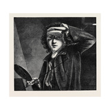 Sir Joshua Reynolds, at the National Portrait Gallery Giclee Print by Sir Joshua Reynolds