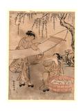 Araihari Giclee Print by Suzuki Harunobu