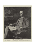 Mr Walter Gilbey Giclee Print by Sir William Quiller Orchardson