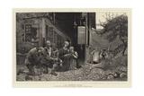 At Death's Door Giclee Print by Hubert von Herkomer