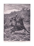 Battle of Killiecrankie: the Last Charge of Dundee Ad 1689 Giclee Print by Stanley Berkeley