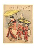 Yuki Giclee Print by Suzuki Harunobu