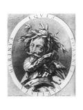 Giambattista Marino Giclee Print by Simon Vouet