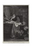 Macchiavelli Giclee Print by Stefano Ussi