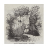 The Caves of Jedburgh, Hiding-Places of the Covenanters Giclee-trykk av Samuel Read