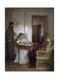 The Chess Players, Pre 1902 Gicléetryck av Sir William Orpen