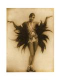 Josephine Baker C.1929 Giclee Print by Stanislaus Walery