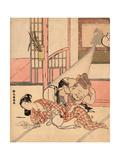 Iro Gonomi No Nuke Daikoku Giclee Print by Suzuki Harunobu