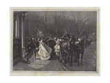 To See the New Year In Giclee Print by Sir Frederick William Burton