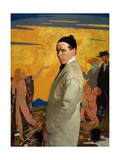 Self Portrait, 1913 Gicléetryck av Sir William Orpen