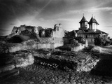 The Ruins of Vlad Dracul's Palace, Tirgoviste, Romania Photographic Print by Simon Marsden