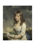 Portrait of a Girl, C.1790 Giclee Print by Sir William Beechey