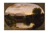 Sunset, View on Catskill Creek, 1833 Giclee Print by Thomas Cole