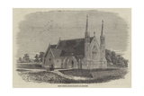 Christ Church, Recently Erected at Lancaster Giclee Print by Thomas Harrington Wilson