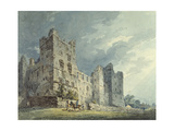 Bolton Castle, Yorkshire Giclee Print by Thomas Girtin