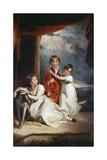 Fluyder Children, 1805 Giclée-tryk af Thomas Lawrence