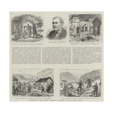 Sketches of the Eviction Campaign in Ireland Giclee Print by Thomas Harrington Wilson