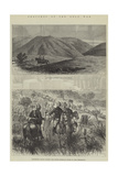 Sketches of the Zulu War Giclee Print by Thomas Harrington Wilson