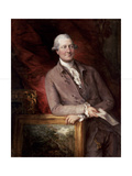 Portrait of James Christie (1730-1803), 1778 Giclee Print by Thomas Gainsborough