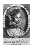 Charles Ix, King of France Giclee Print by Thomas de Leu