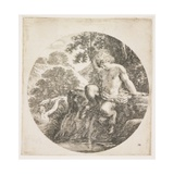 The Young Satyr, 1656 Giclee Print by Stefano Della Bella